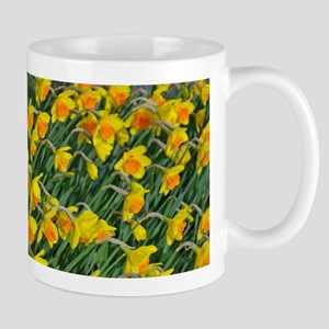 Bright yellow daffodils garden Mugs